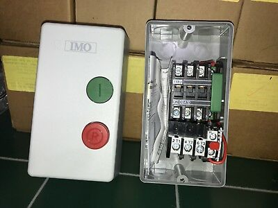 IMO Precision Controls Enclosed 0.5 - 7.5 Motor Starter - New/Old-stock -