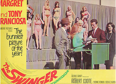 The Swinger Ann Margret Tony Franciosa Vintage Original U.s. Lobby Card #3