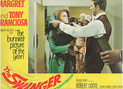 The Swinger Ann Margret Tony Franciosa Vintage Original Lobby Card #2
