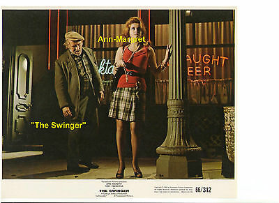 THE SWINGER ANN MARGRET AS HOOKER IN FISHNET PHIL ARNOLD ORIGINAL 8x10 STILL US