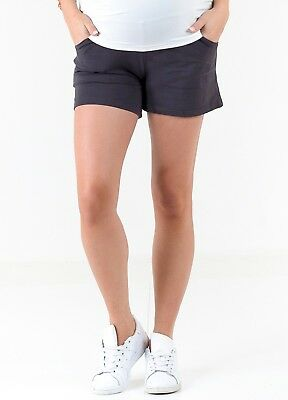 NEW - Trimester® - Leo French Terry Maternity Shorts - Pregnancy Clothes