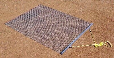 Trigon Sports BDMAT35 M1036X5A- 3 ft.Wx5 ft.L Steel Drag Mat. Delivery is Free