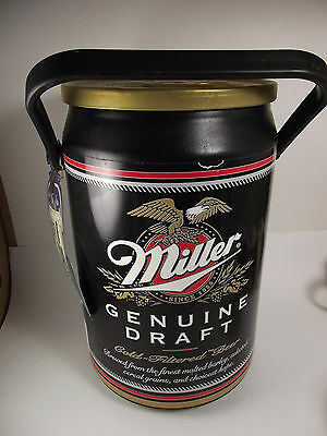 Kooler Kraft Cooler 8 Can Miller Genuine Draft Holds Beverage Cans