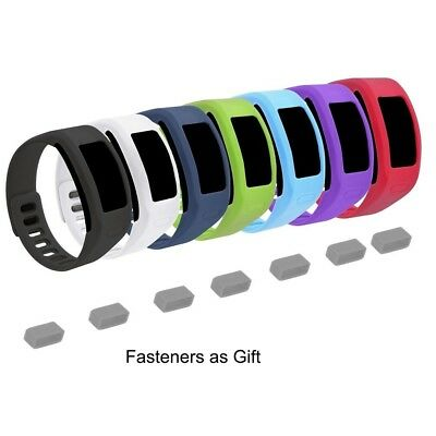 (Large, 7 pack 1th) - EverAct™ Colourful Replacement Bands for Garmin Vivofit