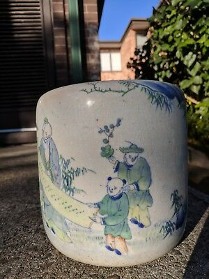 Ming Style Brush Pot - looks Chinese, looks ancient