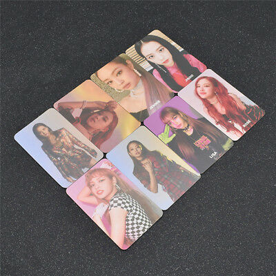 Kpop Blackpink Album SQUARE UP Photo Card Poster Paper Lomo Cards HD Photocards