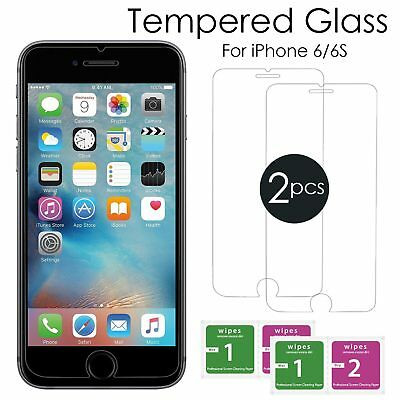 For Apple IPhone 6s & 6 – 100% Genuine Tempered Glass Film Screen Protector