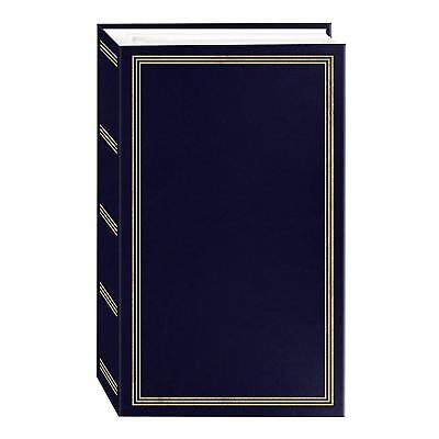 Photo Album 4x6 500 Photos Pioneer 3 Ring Binding Vacation Graduation Navy Blue