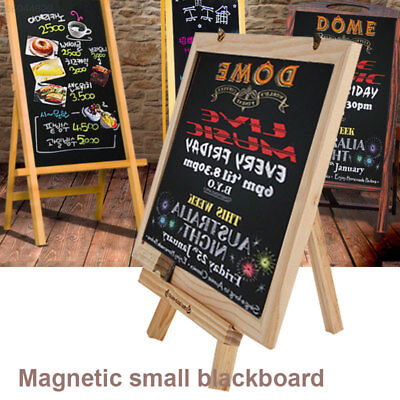 46C9 Portable Small Blackboard Whiteboard Dual-Purpose WordPad Table Card