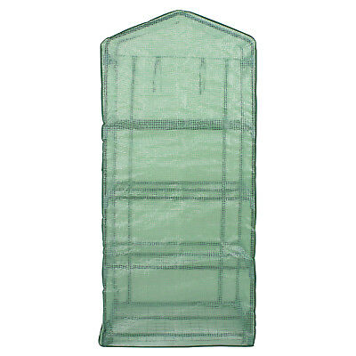 Compact Small Space Garden Greenhouse Steel Construction Freestanding Storage