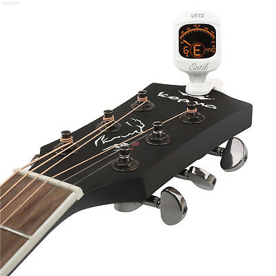 5761 New Chromatic Headstock Tuner For Guitar, Bass, Uke, Banjo & More! Xmas Gif