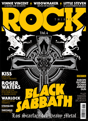 This Is ROCK Magazine Revista Six Pack Black Sabbath Iommi Ozzy Cover Features