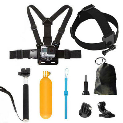 Accessories Kits Head Chest Mount Harness Monopod For GoPro Camera Hero 2 3 4 5