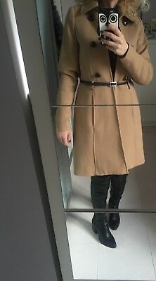 Cappotto Giacca Cammello Camel Donna Tg Xs