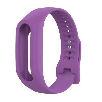 (Purple) - Lisin Replacement Silicone Band Strap For TomTom Touch Cardio