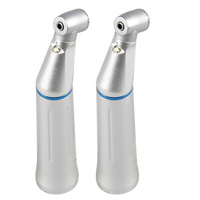 2PCS KAVO Style Dental LED Low Speed handpiece Contra Angle with Light UK