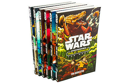 Star Wars: Adventures in Wild Space 6 Book Collection By Cavan Scott, The Snare