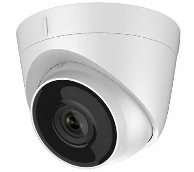 HiWatch 3MP TVI White HD Turret Camera 40m IR With 2.8mm Lens