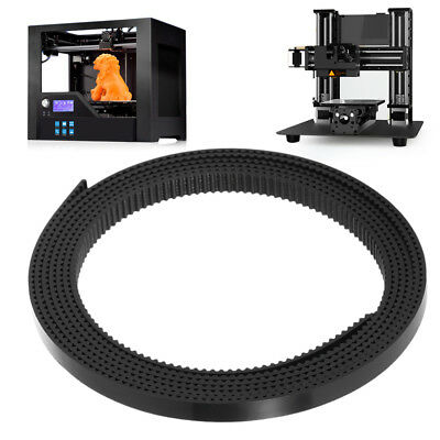 Anet 1.7M Longueur 6MM Width GT2 Timing Belt pour 3D Printer con Wire Rope