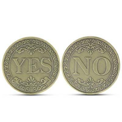 Commemorative Coin Floral YES NO Letter Ornaments Collection Arts Gifts