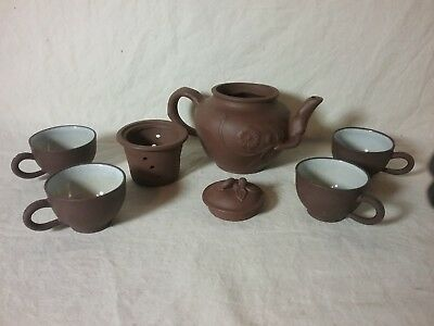 Vintage Early 8pc Chinese Tea Set