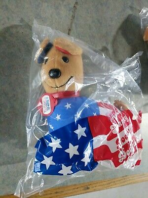Rare NEW Vtg 1992 AVON Spanky Doodle Doggie Collectible Stuffed Cloth Puppy Dog