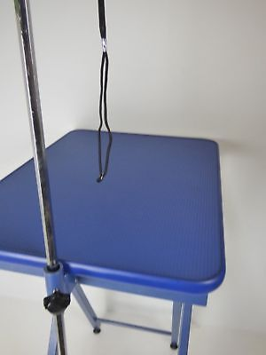 Groom Professional Ring Side Table Blue EXDISPLAY BROKEN NOB & SCRATCHES