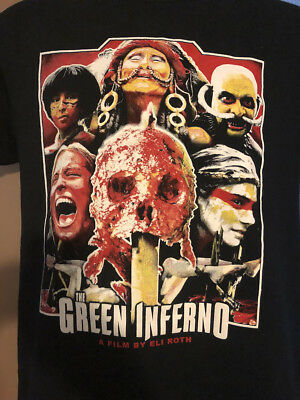 The Green Inferno T-shirt Eli roth Cannibal Holocaust horror