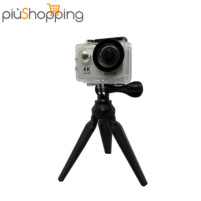 Treppiedi Tripod Mini Cavalletto Supporto Per Action Cam Fotocamera Universale