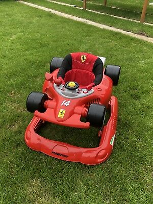 Ferrari Baby Car Walker Red