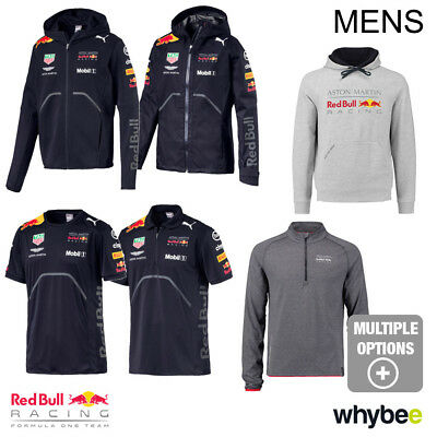 Men's 2018 Aston Martin Red Bull Racing F1 Formula One Official Puma Clothing