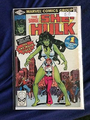 Savage She Hulk 1 8.0