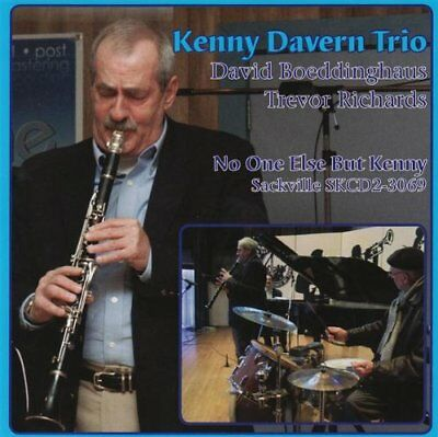 KENNY DAVERN TRIO - No One Else But Kenny - CD - **BRAND NEW/STILL SEALED**