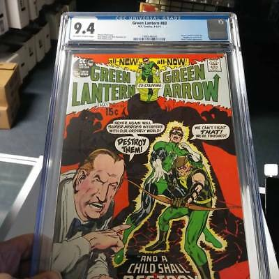 Green Lantern #83 CGC 9.4 Off White - White Pages