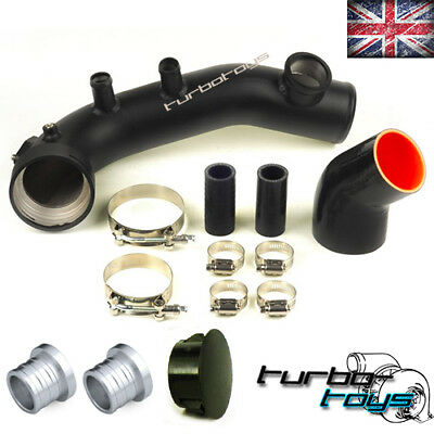 TURBO TOYS BMW 335i N54 TURBO CHARGE BOOST PIPE KIT E90 E91 E92  TIAL 25MM 50MM