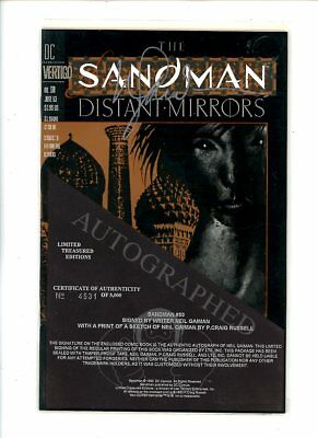 1993 DC Comics, SANDMAN #50, Limited Edition Signed by Neil Gaiman w/COA,NM,BX61