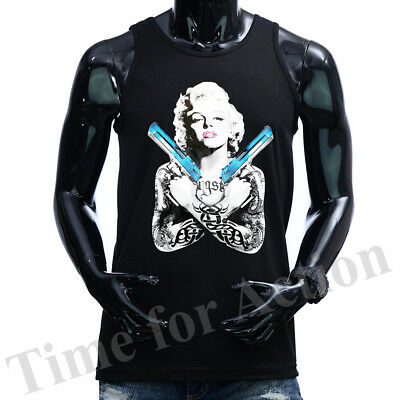 Men/' Marilyn Monroe Cali Pullover Sweater Hoodie,Poker California Republic Sz M