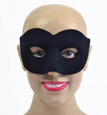 Black Velvet Classic Face Mask Masquerade Halloween Eye Mask Party Accessory 950