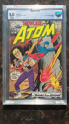 Showcase # 35 - CBCS 5.0 Cream/Off-White Pages - Second SA Atom