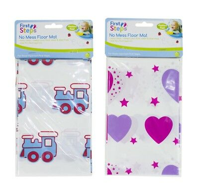 Baby Floor Mat No Mess High Chair Feeding Cover Messy Play Splash Painting
