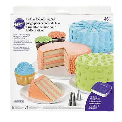 Wilton 2104-1368 Set Decorazione Deluxe Decorating set 46 pz