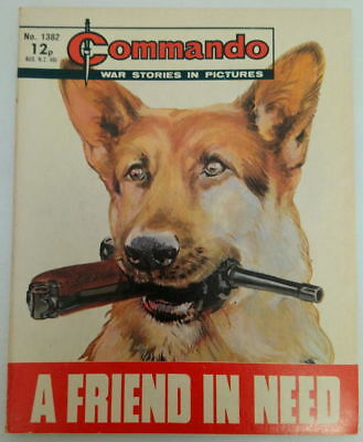 Commando Comic #1382 - A Friend in Need