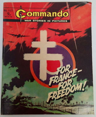 Commando Comic #1177 - For France-For Freedom