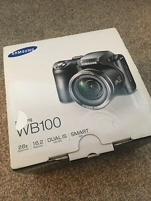 Samsung wb100 Camera- Mint Condition.