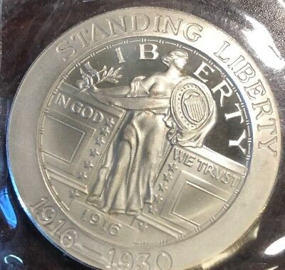 1oz Silver Coin Commemorating Standing Liberty Coin (A:684)