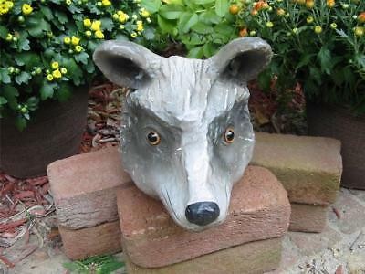 Cody Foster Large Wolf Jack O'lantern Bucket Container Halloween New