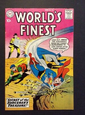 World's Finest Comics #103 (Aug 1959, DC) * BATMAN * ROBIN * SUPERMAN *
