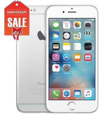 Apple iPhone 6 - 128GB - Silver (Unlocked) A1549 - Great Condition (R-D)