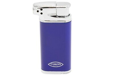 Comoy's Soft Flame Pipe Lighter - Blue