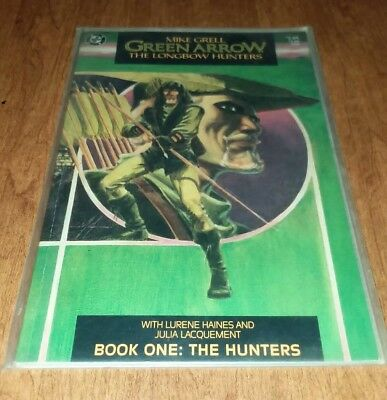 Green Arrow: The Longbow Hunters Book One DC